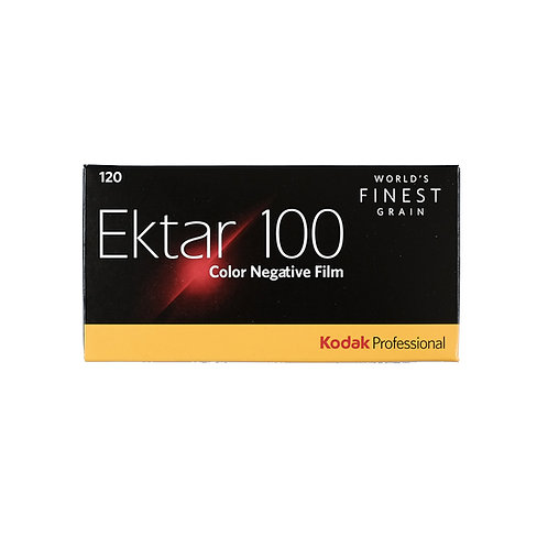 Kodak Professional Ektar 100 Color 120 Film (5 Rolls)