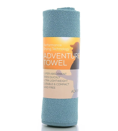 吸水快乾毛巾 Aquis Adventure Towel- SEA FOAM Medium