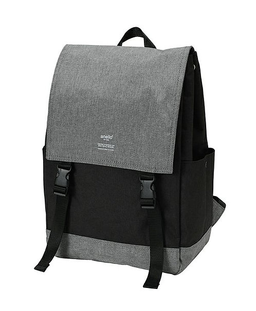 Anello - 可折疊 大容量 旅行 背包 AT-H1151(黑色/灰色)