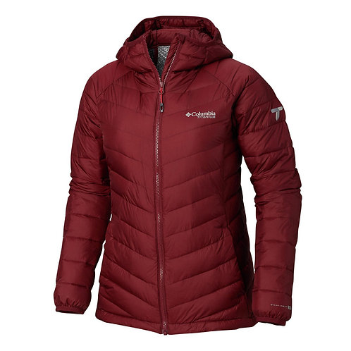 Women's Snow Country Hooded Omni-Heat™ 3D Jacket – Rich Wine