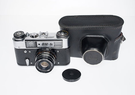 NEW ! Russian USSR FED-5C Rangefinder 35mm Film Camera + 55mm F/2.8 Lens