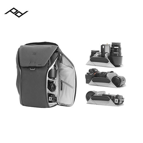 PEAK DESIGN - Everyday Backpack 20L V2 (Black)