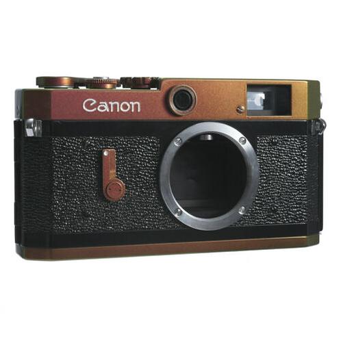 Canon P RF Film Camera Leica LTM L39 Repainted- Pink&Green&Yellow/ CLA'D