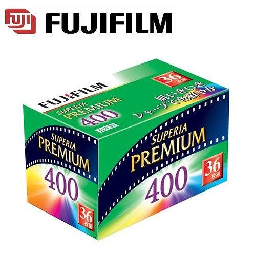 富士菲林 - 日版 FujiColor PREMIUM SUPERIA 400 ISO 35mm  (36exp)