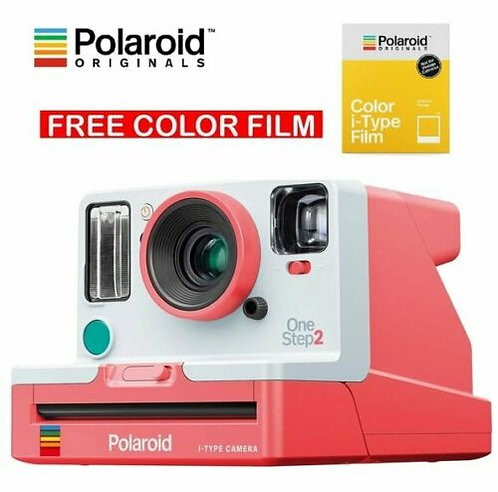Polaroid Originals OneStep 2 Viewfinder i-Type Instant Camera - Coral