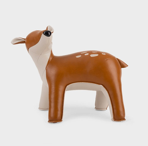 ZUNY Deer Luke Bookend - Tan + Wheat