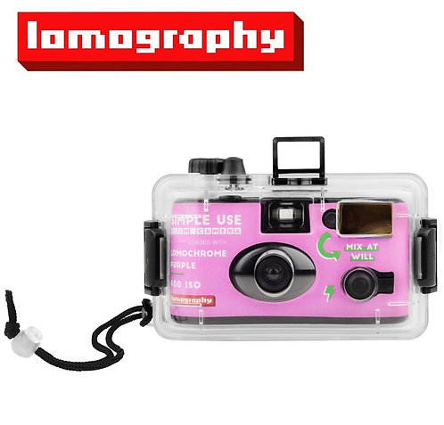 Lomography Simple Use Reloadable Camera + Underwater Case (LomoChrome Purple)