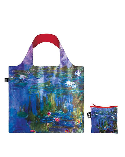 LOQI Museum Collection - CLAUDE MONET Water Lilies, 1913 Bag