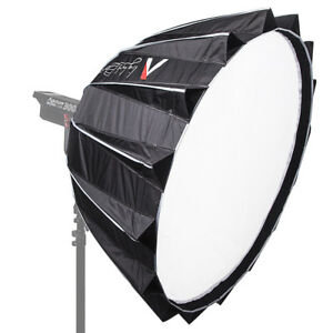 "Aputure Light Dome II (34.8"")  Bundled with a fabric honeycomb grid add-on that"