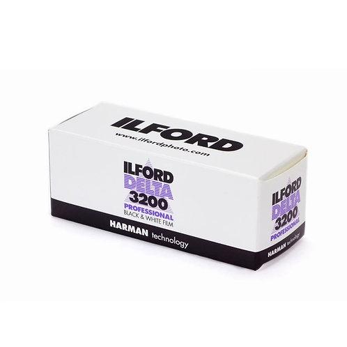 LFORD Delta 3200 B&W 120 Negative Film