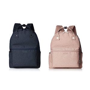 Anello - 手提背包兩用袋 ATB2269NV 藍色 ,裸粉色