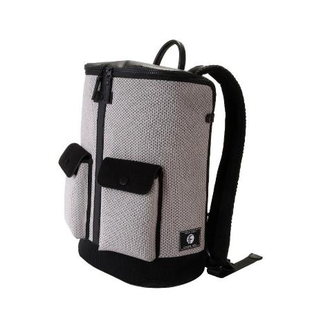 Frequent Flyer - 大口全開拉鏈多分格旅行背包(L) - 灰色 (22L)