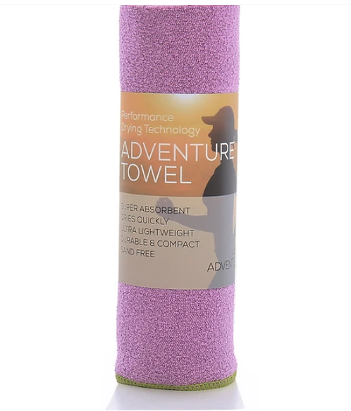 吸水快乾毛巾 Aquis Adventure Towel- PURPLE Medium