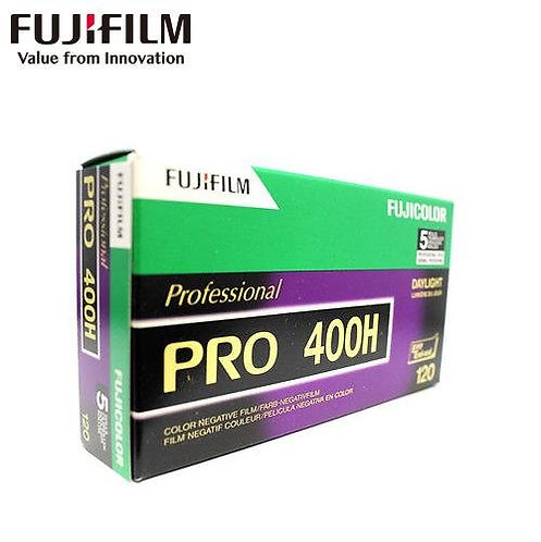 Fujifilm FujiColor PRO 400H 120 Medium Format Color Film
