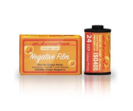 Escura x Dragon Ball Z  ISO 400 24exp Color Negative Film