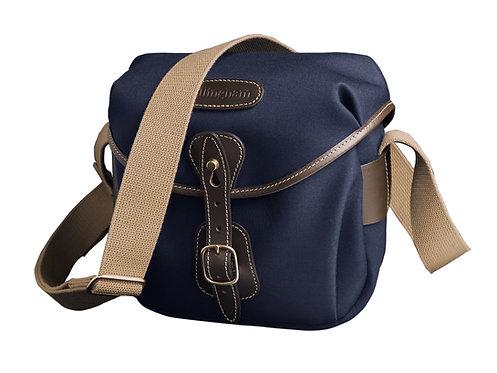 Hadley Digital Camera Bag - Navy Canvas / Chocolate Leather 501304-54
