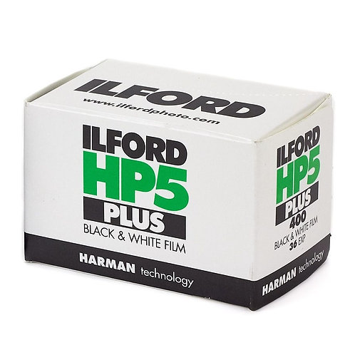 ILFORD HP5 Plus ISO 400 B&W 35mm Negative Film (36exp)