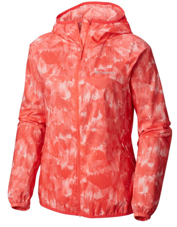 Women's Pacific Drift™ Wind Jacket -RED CORAL