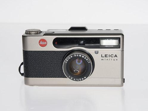 Leica Minilux Summarit 40mm F2.4 35mm Film Camera