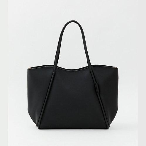 Legato Largo by Anello - 輕量大容量 軟皮女士手袋 LG-P0335(黑色)