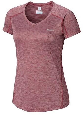 Women's Zero Rules™ Short Sleeve Shirt - WINE BERRY