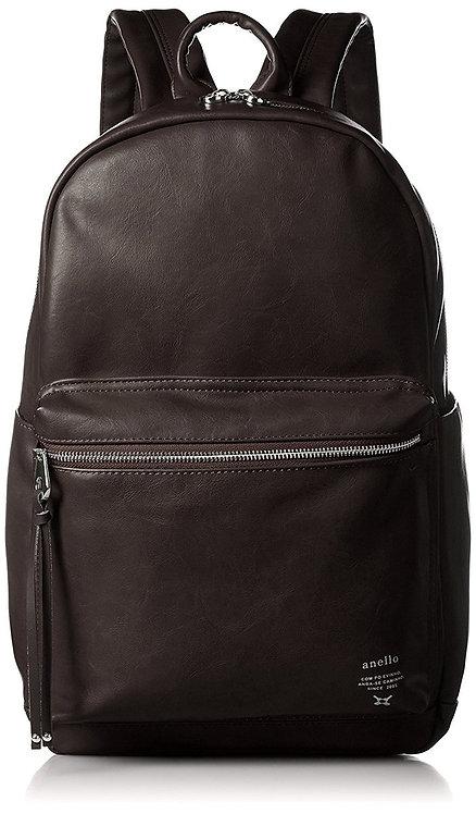 Anello - PU皮革 簡約時尚 背包 AT-B1512(深啡色)