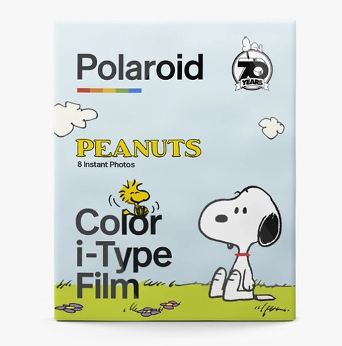 Polaroid i-Type Color  Instant Film (PEANUTS Snoopy 70th)