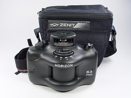 Zenit - Panoramic 35mm film camera  KMZ Horizon 203 S3 PRO