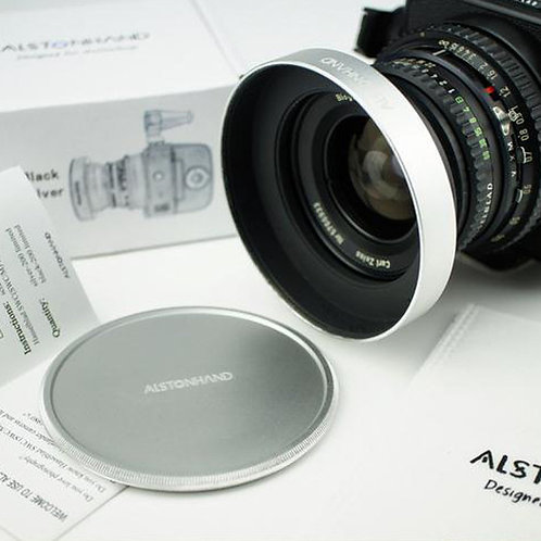 ALSTONHAND - Metal Lens Hood + Cap for Hasselblad SWC SWC/M Biogon 38/4.5 Camera