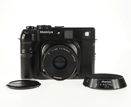Mamiya 6 MF 35mm Rangefinder Film Camera Body + 75mm F/3.5 Lens