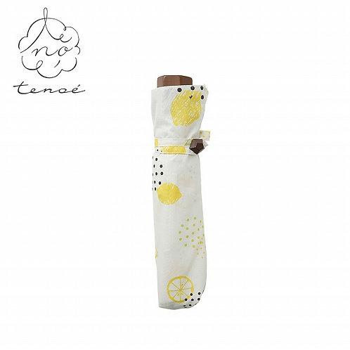 Line Drops - Tenoe - 防UV 折傘 - 檸檬梳打/しゅわしゅわレモンサイダー