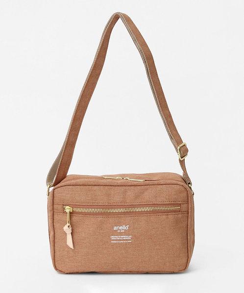 Anello - 輕巧休閒雙用式手挽側揹袋 AT-C3164OBE 米橙色