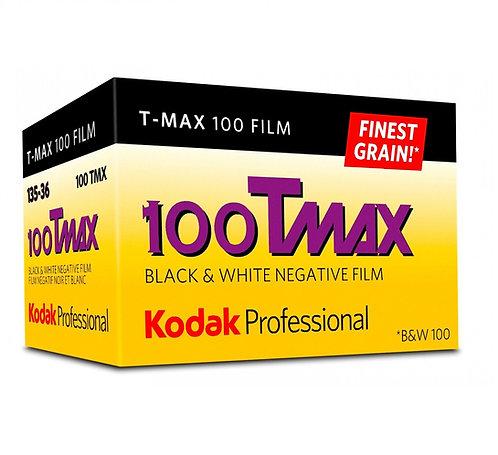 KODAK Professional T-MAX 100 ISO 135-36 B&W Negative Film