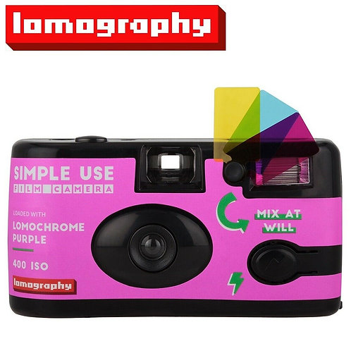 Lomochrome Purple XR Simple Use Film Camera (27exp)