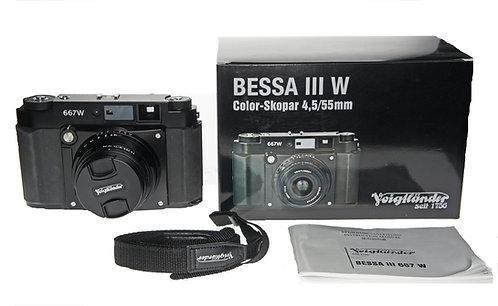 Voigtlander Bessa III 667W Fujifilm GF670W 120 Film Camera