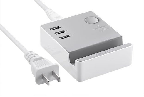 UGREEN 3 Ports USB Charging Station Charger with Cradle for Tablet & Smartphone