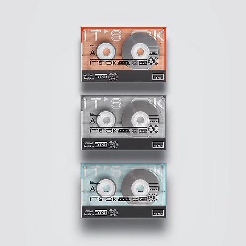 NINMLAB - IT'S OK Cassette Tape - Blank Tape (60 mins)