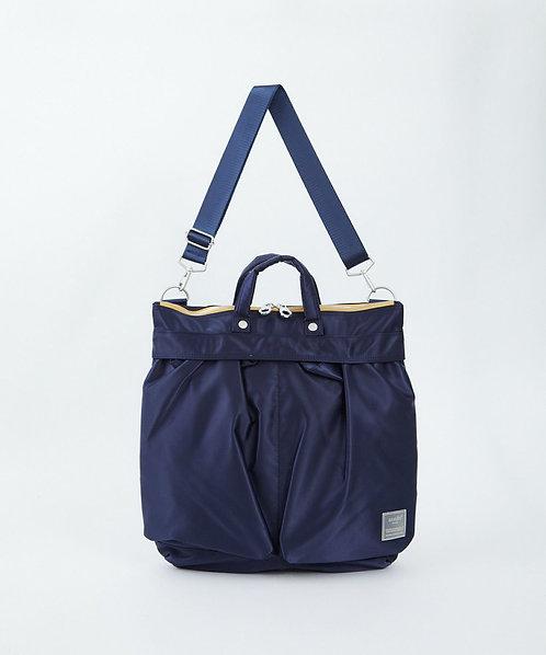 Sabrina系列 手提側揹 兩用斜揹袋 輕便 多分格 ATT0504 - 深藍色