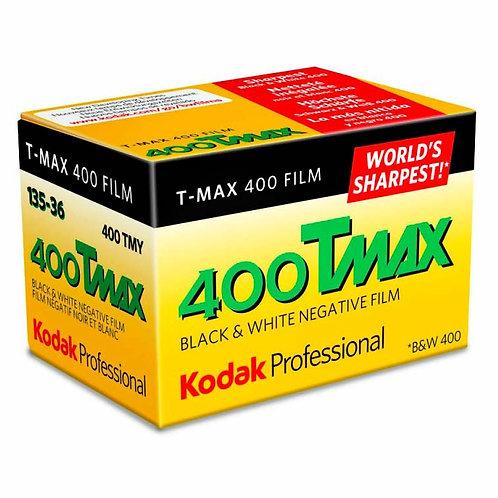 柯達菲林 Kodak Professional T-MAX 400 Tmax 35mm B&W Film (36exp)