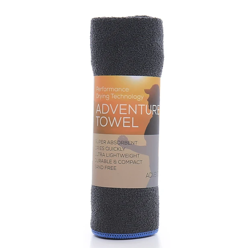 吸水快乾毛巾 Aquis Adventure Towel-Blueberry Medium