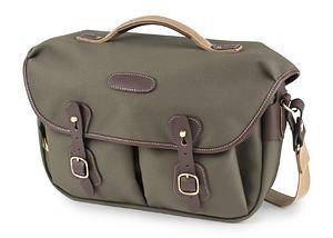 Billingham - Hadley Pro 2020 Camera Bag (Sage FibreNyte / Chocolate Leather)