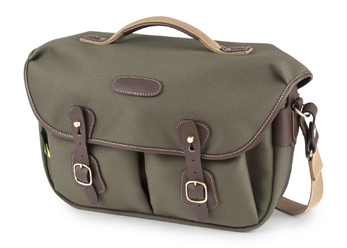 Billingham - Hadley Pro 2020 Camera Bag (Sage FibreNyte / Chocolate Leather)