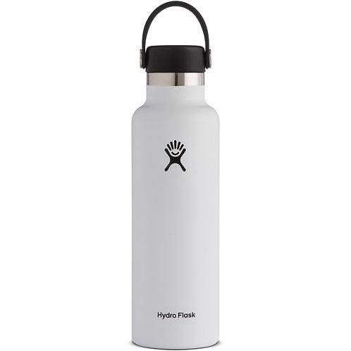 21 oz 標準開口 中型SIZE 方便易携 暖水瓶 -白色