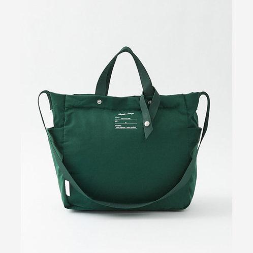 Legato Largo by Anello - 防潑水 可摺疊 兩用 側揹/手挽袋 LG-E1352(深綠色)