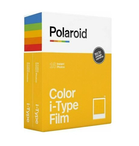 Polaroid i-Type Color Instant Film Double Pack (16 Sheets)