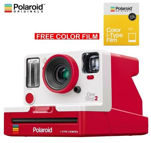 Polaroid Originals OneStep 2 Viewfinder i-Type Instant Camera - Red
