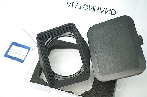 ALSTONHAND - 49mm Metal Hood & Cap Set for Hasselblad XPAN I II 45mm 90mm Lens