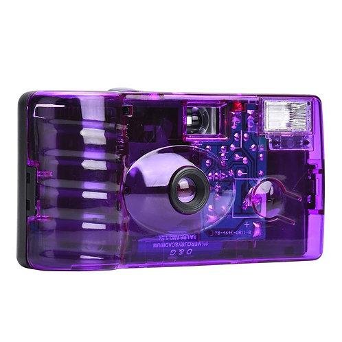 Holga Color 400 ISO 35mm Single Use Camera (Purple Filter)