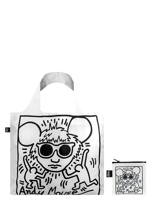 LOQI MUSEUM COLLECTION - Keith Haring Andy Mouse