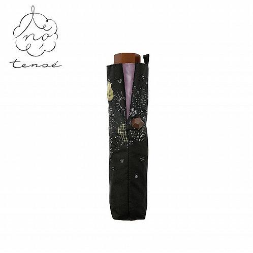 Line Drops - Tenoe - 遮光遮熱 日傘 折傘 - 鮮花香氣/花の香り
